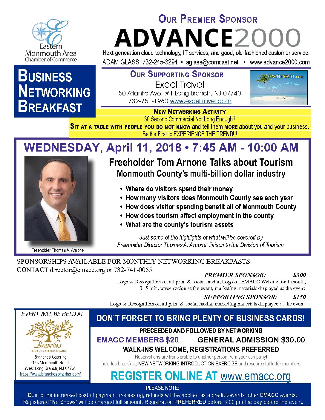 Business Networking Breakfast 4-11-2018